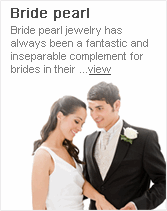 bride pearl-Bride pearl jewelry has always been a fantastic and inseparable complement for brides in their ...