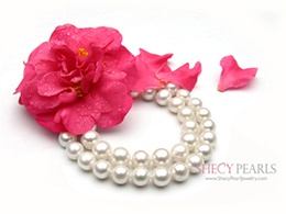 White Cultured Freshwater Pearl Bracelet