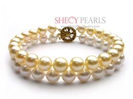 Multicolor Cultured Akoya Pearl Bracelet