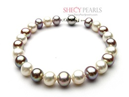 Multicolor Cultured Freshwater Pearl Bracelet