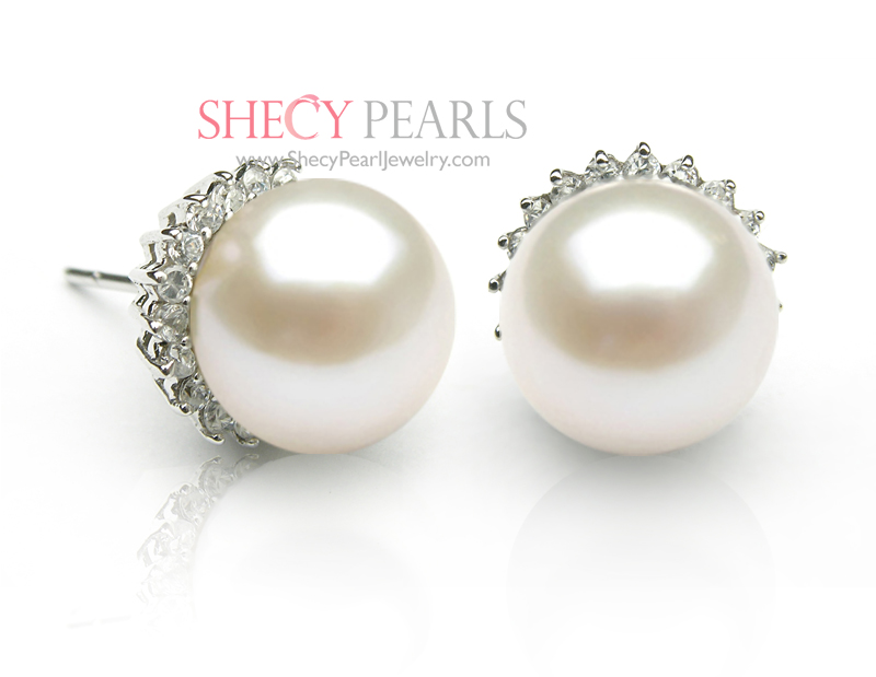 white listing il earrings minimalist pearls modern pearl silver arch long drop