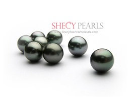 Black Cultured Tahitian Pearl Loose Pearl