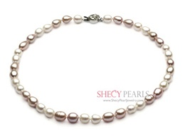 Multicolor Cultured Freshwater Pearl Necklace